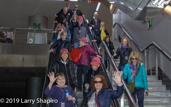 Am Shalom of Glencoe tours Seville Spain 2019