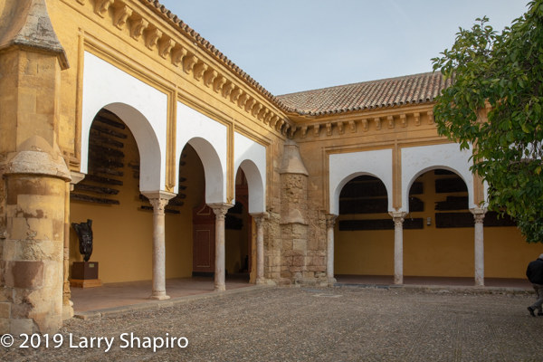 courtyard of the Cathedral Mosque in Cordoba