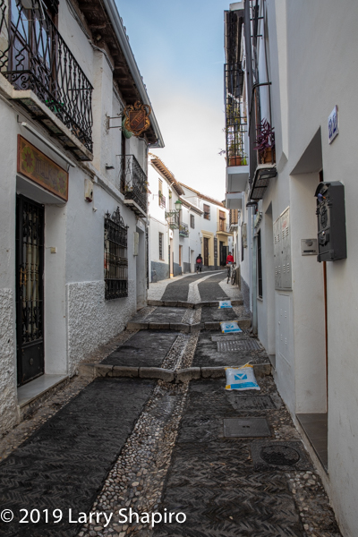 Beautiful street in Granada