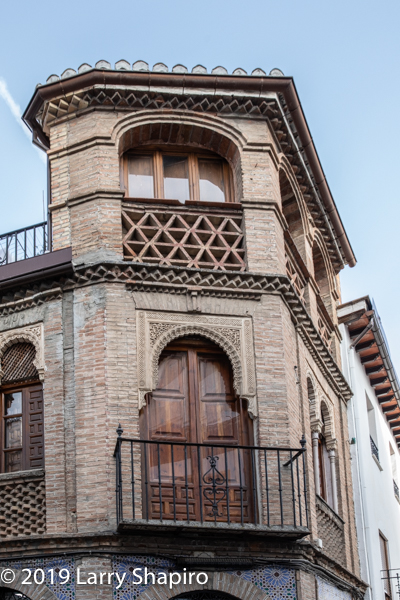 Beautiful buildings in Granada