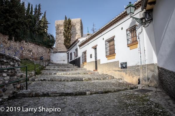 Beautiful street in Granada