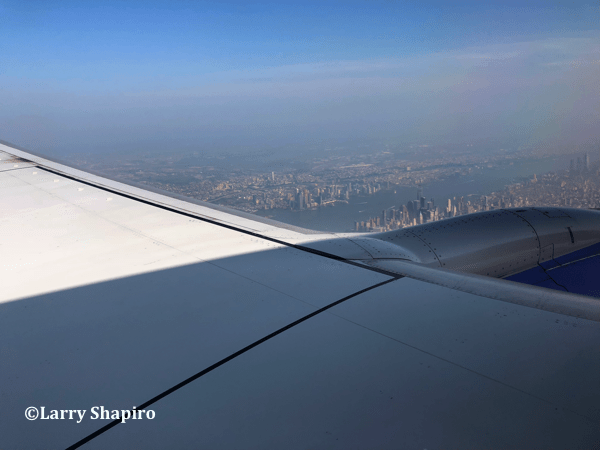 Lower Manhattan seen from a Southwest Airlines plane #SWA @SWA