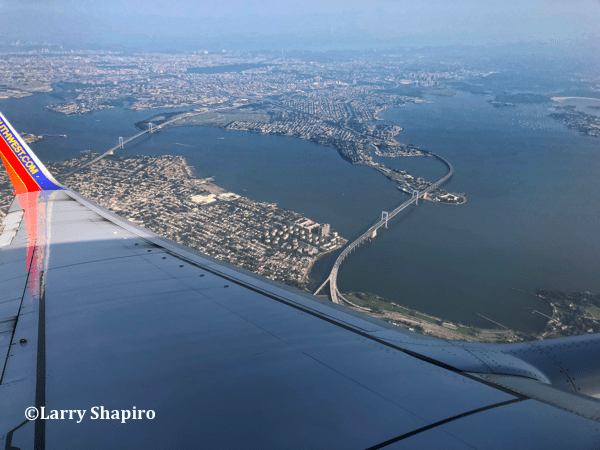 New York City seen from a Southwest Airlines plane #SWA @SWA