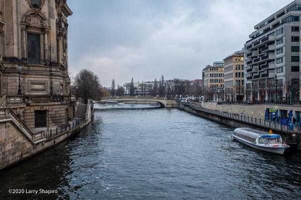 Spree River in Berlin