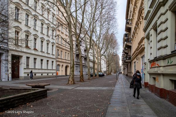 vintage buildings in Berlin