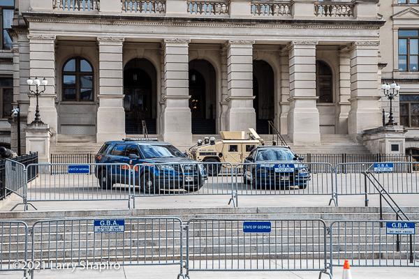 Georgia State Patrol vehicles
