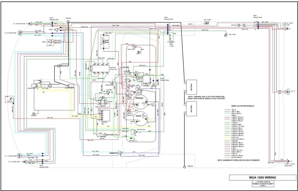 medium resolution of mga subassembly wiring rh larrysmga net 1959 mga wiring diagram 1958 mga wiring diagram