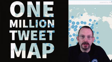 One Million Tweet Map – Big Data at Your Fingertips