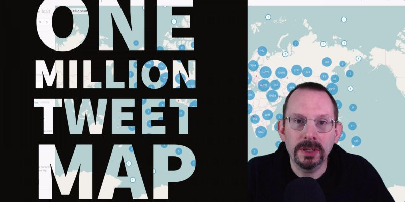 One Million Tweet Map - Big Data at your fingertips
