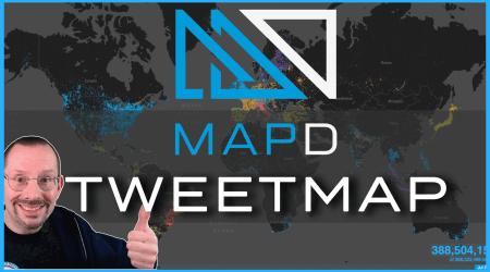 mapD – Visual Tweet Map