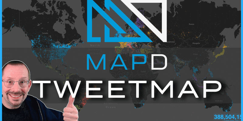 MapD Tweet Map Demo