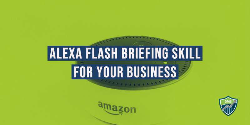 Alexa flash briefing skill