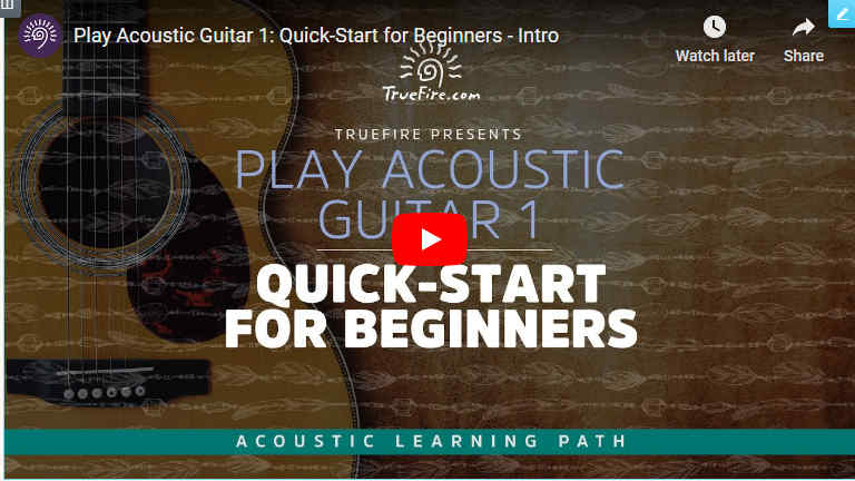 Quick Start Guitar-Acoustic