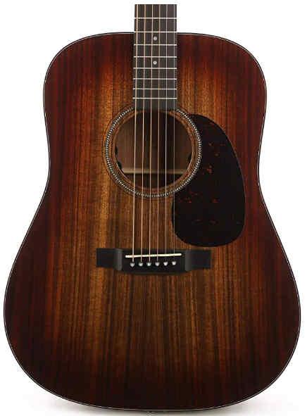 Martin D-16E Burst Acoustic-Electric Guitar - Mahogany Burst Front