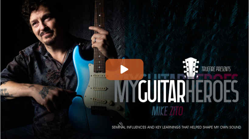 My Guitar Heroes Mike Zito