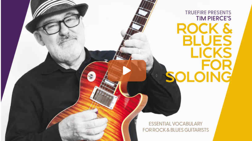 Rock & Blues Licks for Soloing