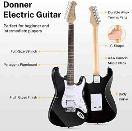DST-102B 39 Inch Electric Guitar