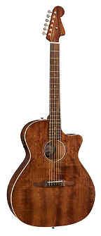Fender Newport Special Acoustic Guitar - All Mahogany