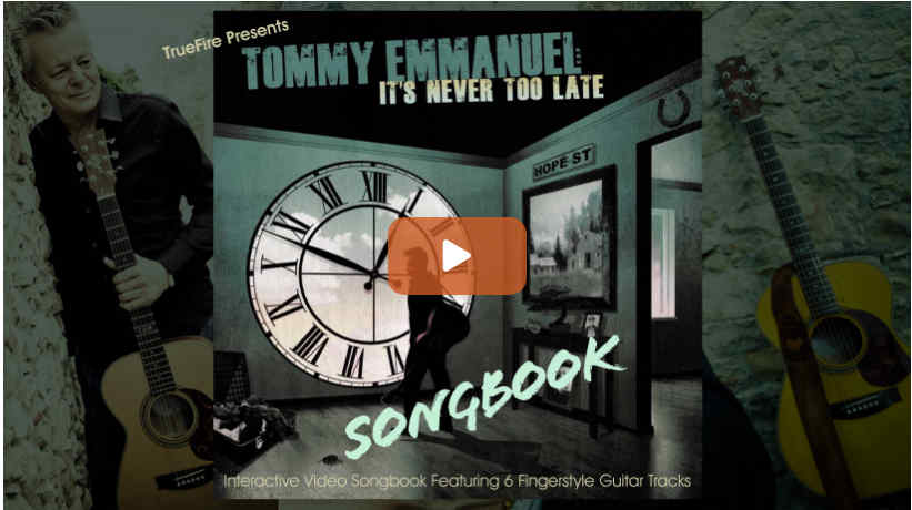 Its Never Too Late Songbook
