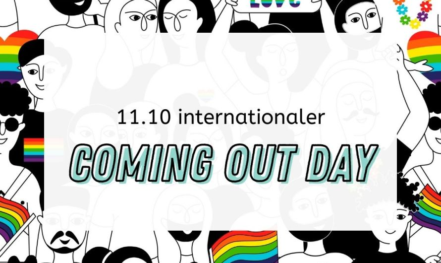 30 Jahre Coming Out Day am 11.10