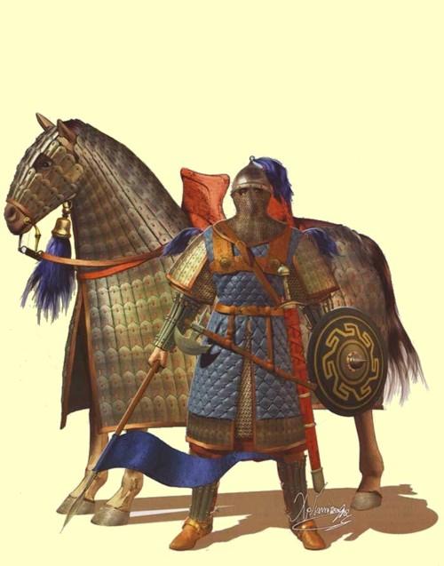 Knight Shield Drawing