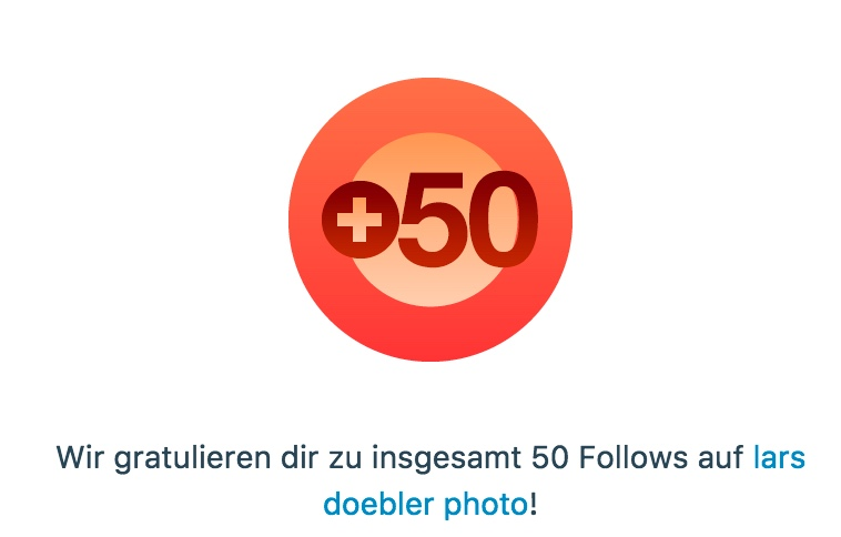 50 Follower