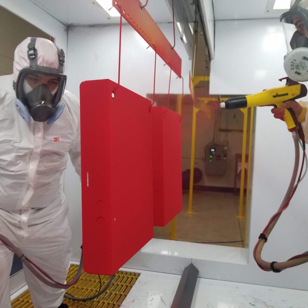 IN-HOUSE POWDER COATING