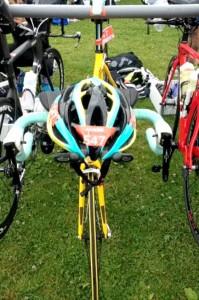 Cykel klar i skiftezonen