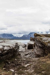 Fjord, Mountains, Trail, Moss, Arctic, Rocks, Stones, Tromsö, Street Photography, Photo Book, Lars Hübner, Fotograf, Norway, Reportage, Visual Storytelling
