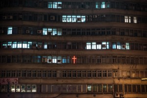 Religion, Christianity, Cross, Night, Street Photography, Asia, Taiwan, China, Photo Book, Lars Hübner, Fotograf, Nothing to Declare,