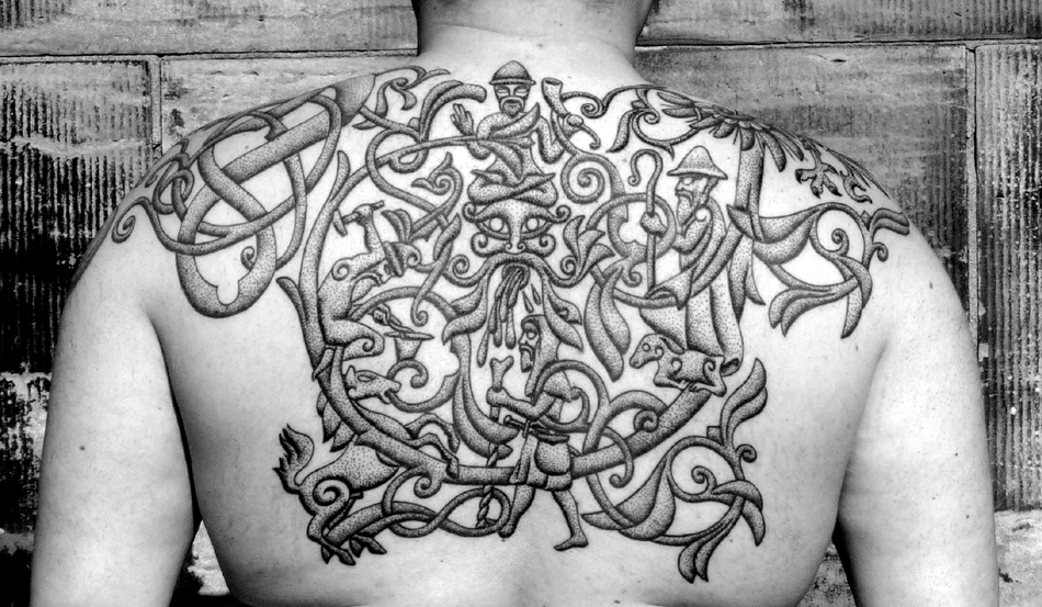 88662bcf7fc8f ... or have their spiritual cosmos or power animals tattooed on their  bodies because they are very much into shamanism and have these kinds of  images ...