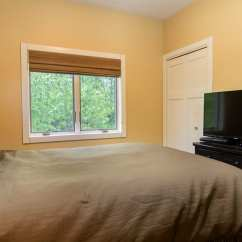 Leather Full Size Sleeper Sofa Andre 2 Br Cottage In The Woods - Larsmont Cottages North ...