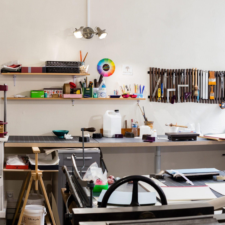 Atelier de reliure Camille Aubert, L'Arbre à Pages