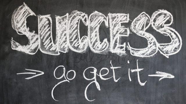 Le succès est à porter de main