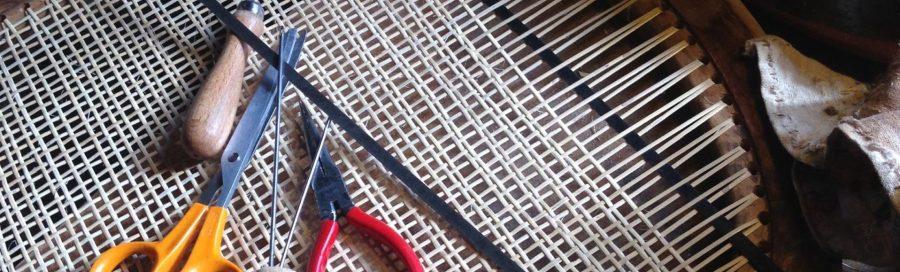 outils pr cannage percé 6 fils