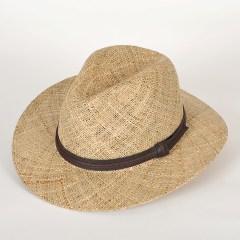 chapeau de paille fedora emilio kiang naturel aurega