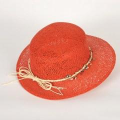 chapeau casquette en fine papier ajouré virginia