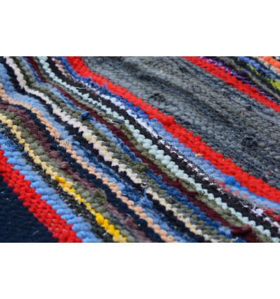 tapis chiffon tapis tresse pour decoration de maison