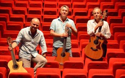 Jean-Marie Frédéric / Gérard Pansanel / Olivier-Roman Garcia  «Hokusaï live» ! en concert au Jam à Montpellier le 15 décembre