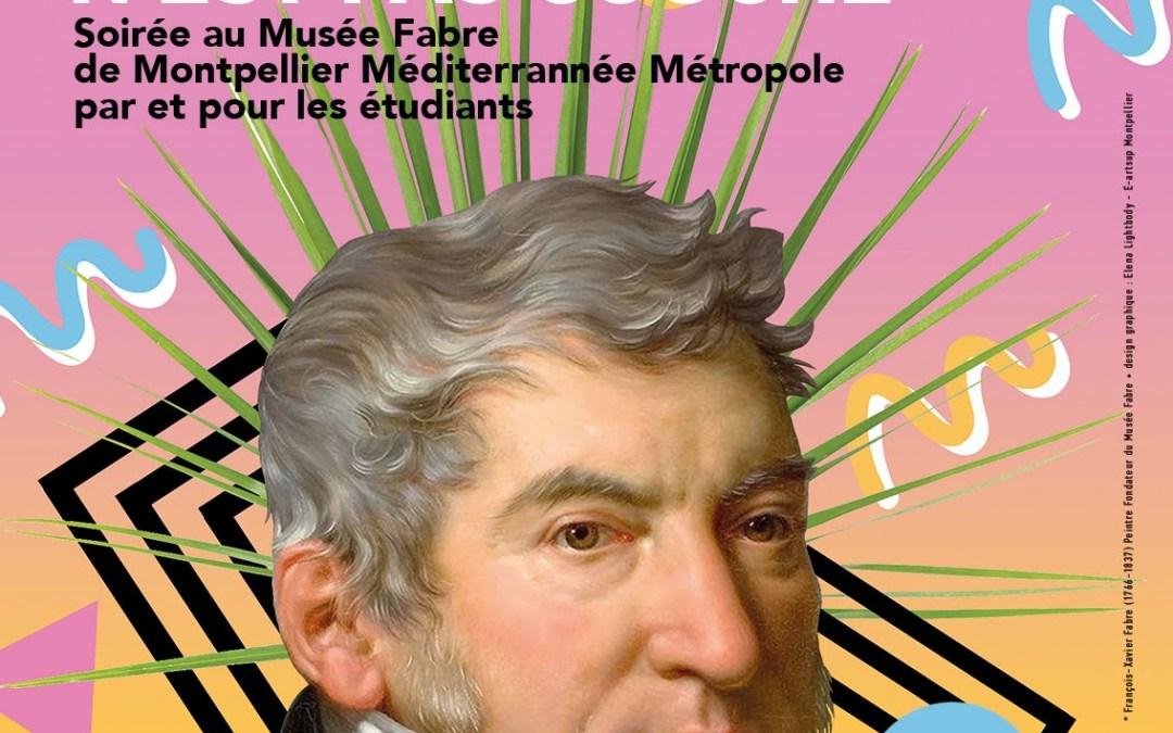La prochaine nocturne étudiante au Musée Fabre est organisée le 1er février 2018 sur le thème «Les langages du corps»