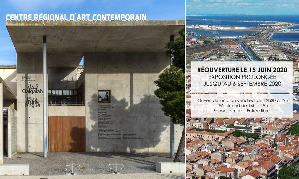 Réouverture du CRAC à Sète le 15 juin prochain