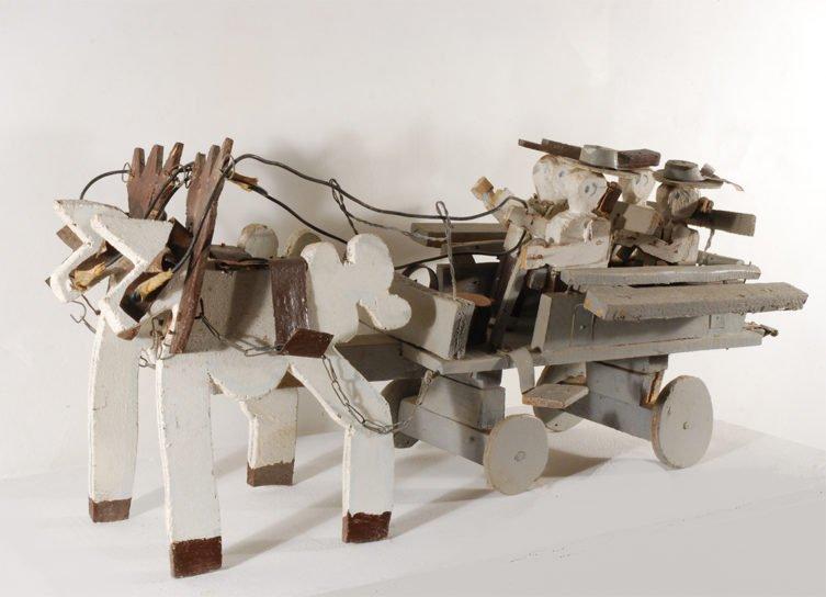 «Il vient…» : l'exposition de René Guisset à la Galerie Odile Oms