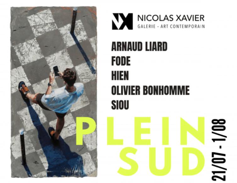 «Plein sud» : à voir jusqu'au 1er août à la galerie Nicolas Xavier