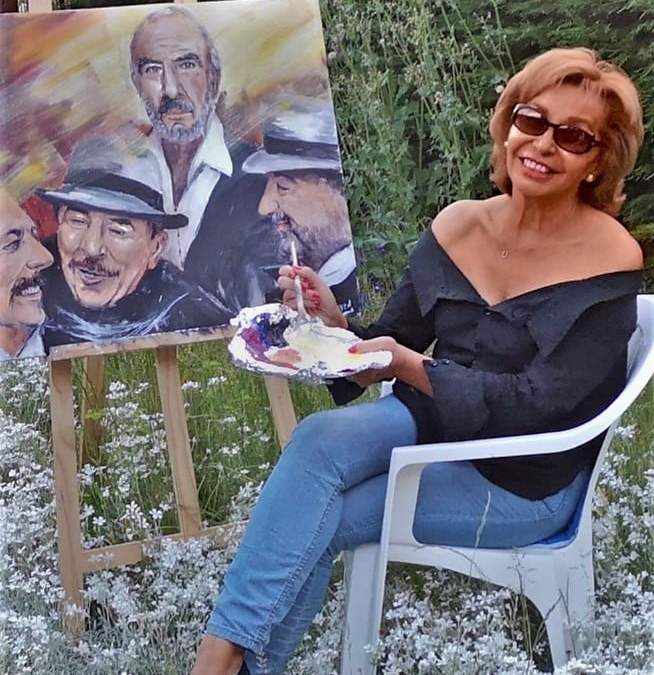 Portrait de l'artiste Nadine NGUYEN  par Alexandre Blondin