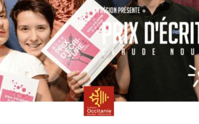 Le palmarès de la 14ème édition du Prix d'écriture Claude Nougaro organisé par la Région Occitanie dévoilé