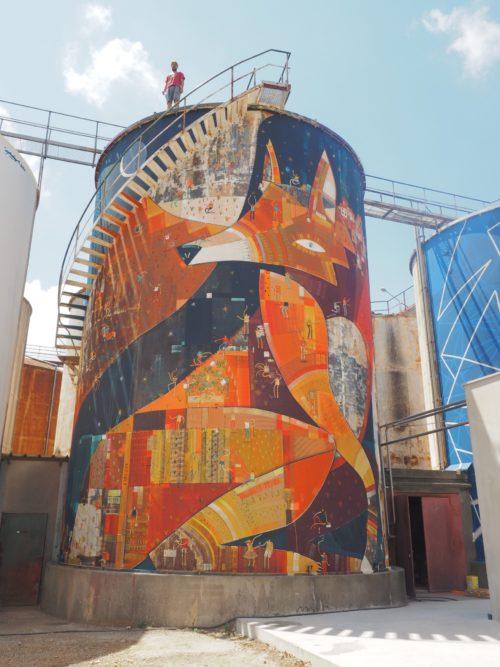 Projet d'Art urbain avec Lineup au CHU de Montpellier