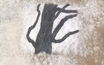 Livre : découvrez «Les arbres sont aussi du silence», la collaboration du peintre Raphael Ségura et du poète James Sacré