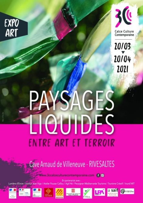 Rivesaltes : la Cave Arnaud de Villeneuve accueille l'exposition «Paysages liquides : entre art et territoire» jusqu'au 20 avril