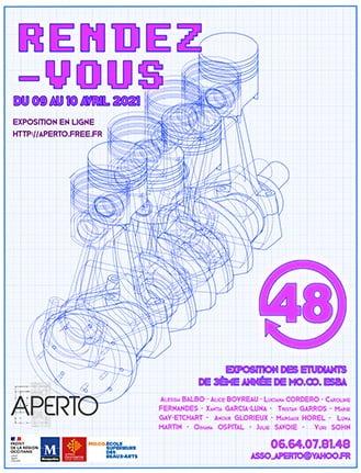 Montpellier : les élèves du MO.CO présente une exposition virtuelle les 9 et 10 avril