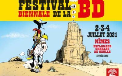 Nîmes : le Festival biennale de la BD reporté les 2, 3 et 4 juillet